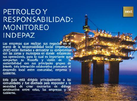 Entra en la multimedia de petroleo Aquii