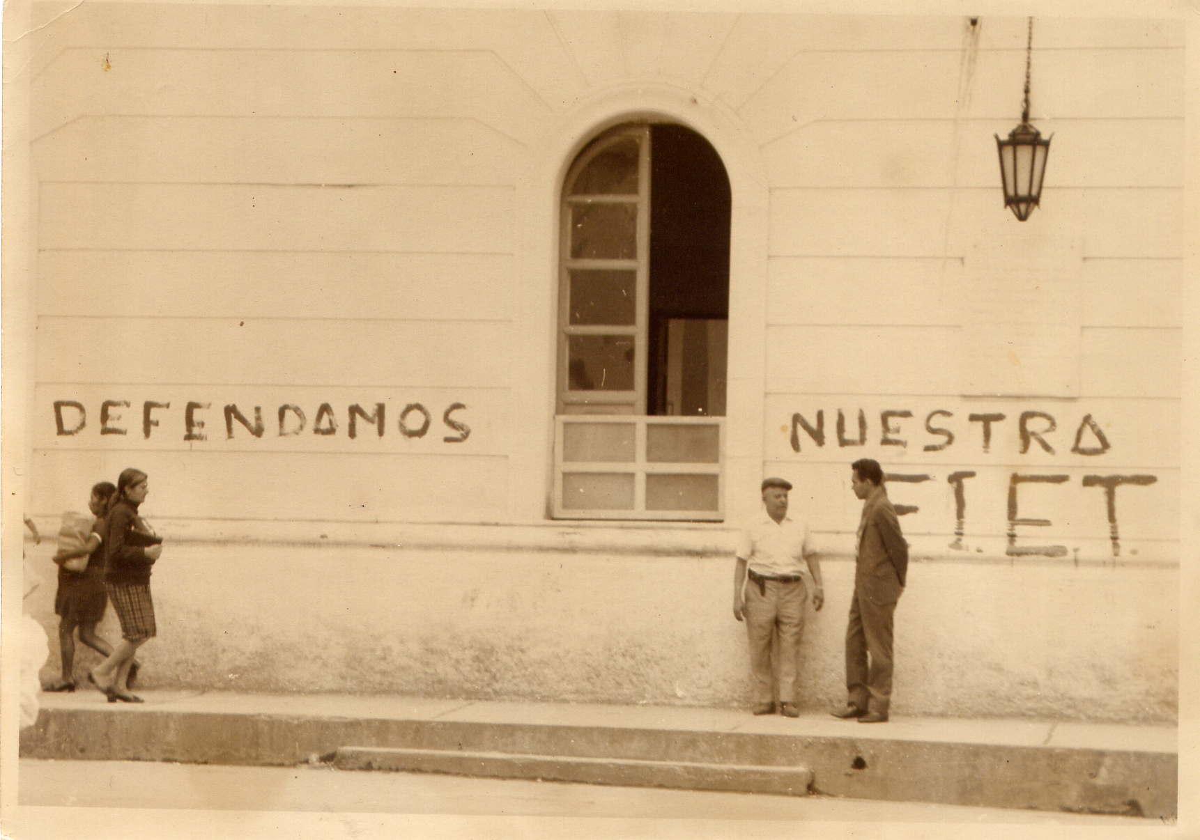 Grafitti en popayán 4 de marzo del 71