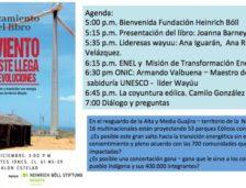 Lanzamiento del libro «El viento del Este llega con revoluciones»