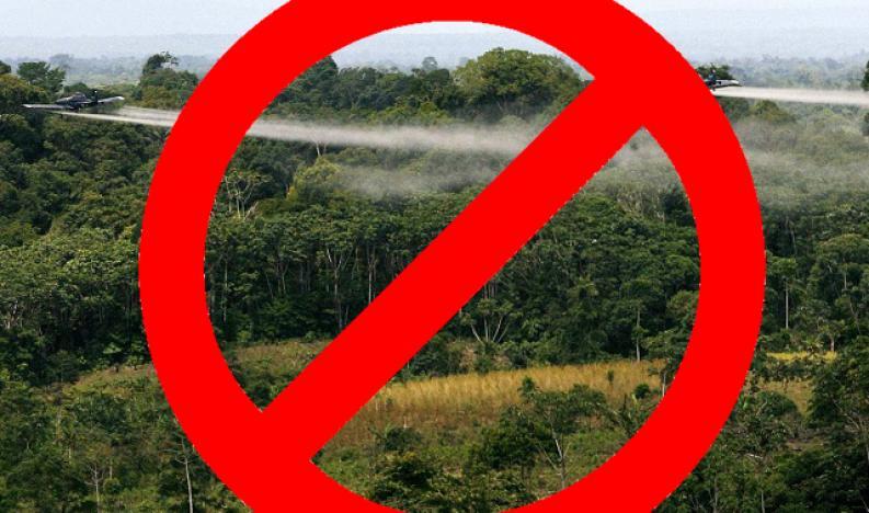Declaración Rechazo a la audiencia del Plan de Manejo Ambiental para la fumigación aérea con glifosato