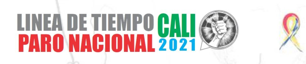 Línea de tiempo Cali paro nacional 2021